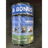 Nemtek Poli Braid Mix6 400m with BONUS 150m. Electric Fence Tape/Rope/Wire