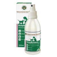 NAS Itchy Scratch Spray. 100ml. Helps Sooth Skin & Paws From Itchy Hot Spots