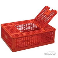 Poultry Transport Coop. Folding. Plastic