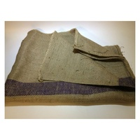 Hessian Dog Bed Replacement Bag - Extra Large (Purple Stripe)