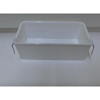 Large Plastic Rectangle Cup Feeder For Birds Or Small Animals