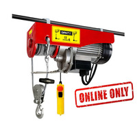 Giantz 1200W Electric Hoist Winch Up To 600kg