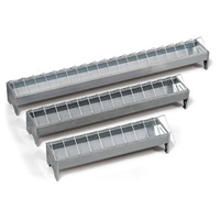 Galvanised Feed Troughs For Poultry