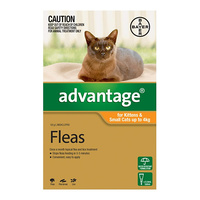 Advantage Flea Treatment For Kittens & Cats Up To 4kg