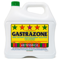 Carbine Chemicals Gastrazone. Oral Dietry Reinforcement Solution For Horses
