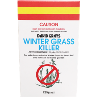 David Grays Winter Grass Killer. Selective Control Of Winter Grass In Lawns
