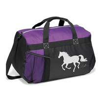 Equestrian Duffel Bag. Purple, Pink Or Turquoise