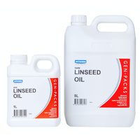 Gen-Packs Linseed (Flax Seed) Oil.