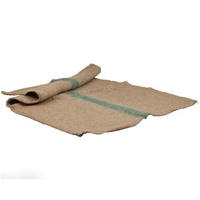 Hessian Bag Dog Bed Replacement - Large (Green Stripe)
