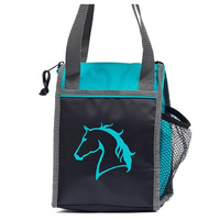 Insulated Lunch Bag With Horse Head Print