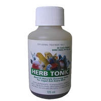 Herb Tonic For Birds. A Blend Of Naturally Occuring Herbs For Birds