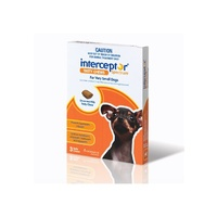Interceptor Spectrum Worm Tablets For Dogs Up To 4kg