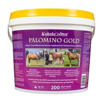 Kohnke's Own Palomino Gold. A Vitamin Supplement Specifically For Palomino Horses