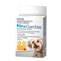 NexGard Chewable Tablet For Flea & Tick Prevention In Dogs 2-4kg