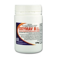 Oxymav B Antibiotic Powder For Birds & Chickens. 100g