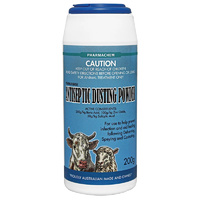 Antiseptic Dusting Powder 200g. To Help Prevent Infection & Improve Healing In Wounds On Animals