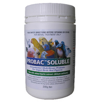 Probac Soluble. Concentrated Multi Strain Probiotic For Birds