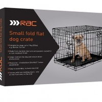 RAC Fold Flat Dog Carrier. Small.