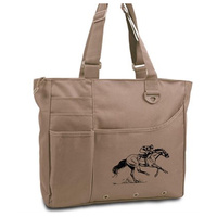 Race Horse Tote Bag