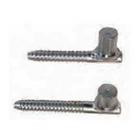 Bosag Standard Screw In Gudgeon. Suits To Suit 25NB or 32NB Gates