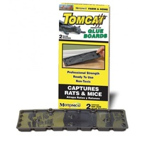 Tomcat Glue Board Traps For Rats. Twin Pack