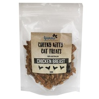 Yummi Pet Products Cheeky Kitty Cat Treats. Chicken Breast.