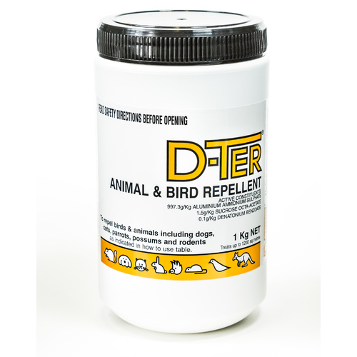 D-Ter Animal And Bird Repellant. 1kg