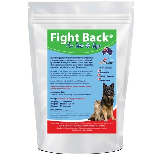 Equifeast Fight Back For Dogs & Cats 200g