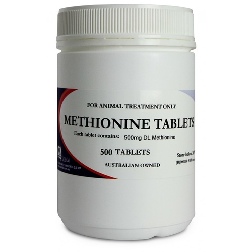 Fidos Methionine Tablets For Dogs. 500 Pack