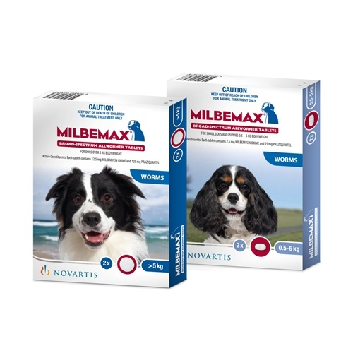 Milbemax All Wormer Tablets For Dogs Small Dog