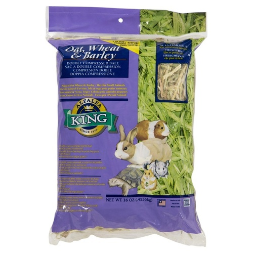 AlfAlfa King Oat, Wheat & Barley Hay For Rabbits & Guinea Pigs 454g